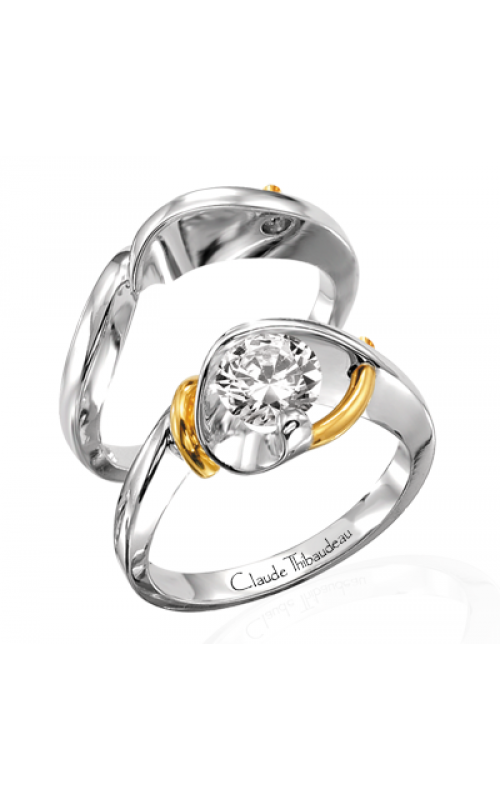 Claude Thibaudeau Pure Perfection Engagement ring PLT-1252 product image