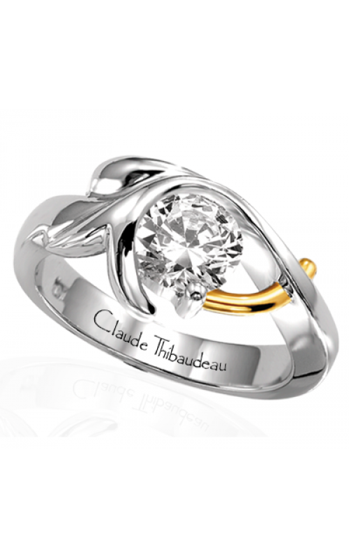 Claude Thibaudeau Pure Perfection Engagement ring PLT-1113 product image