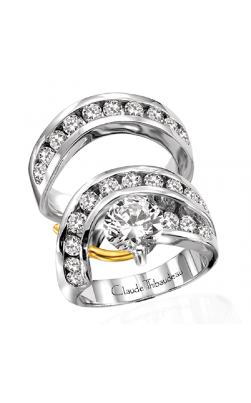 Claude Thibaudeau Pure Perfection Engagement ring PLT-1112 product image