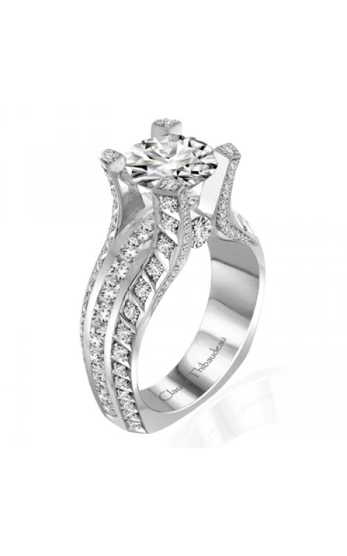 Claude Thibaudeau La Royale Engagement ring MODPLT-10047-MP product image