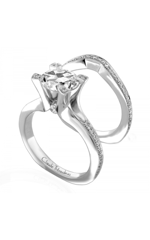 Claude Thibaudeau La Royale Engagement ring PLT-1843-MP product image