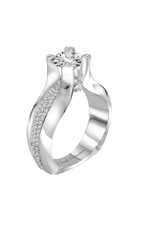 Claude Thibaudeau La Royale Engagement ring PLT-1945-MP product image