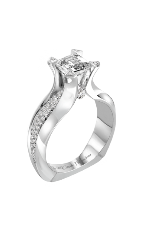 Claude Thibaudeau La Royale Engagement ring PLT-1954-MP product image