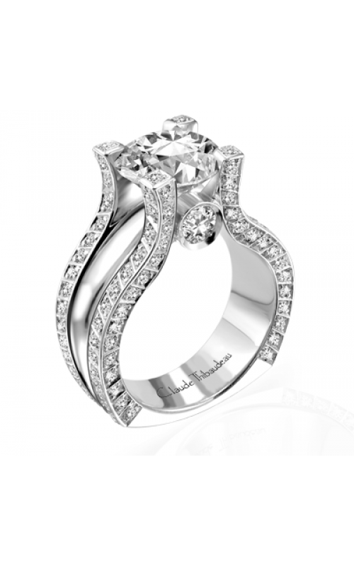 Claude Thibaudeau La Royale Engagement ring MODPLT-1534 product image