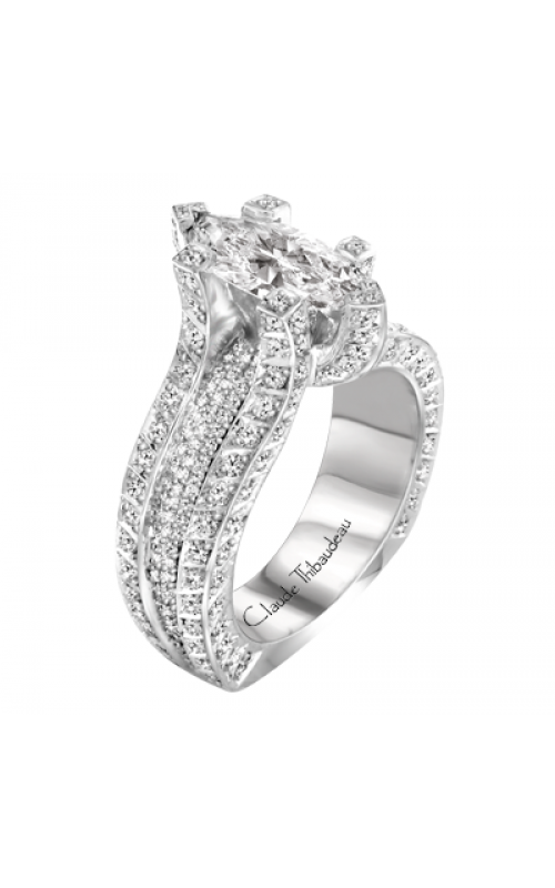 Claude Thibaudeau La Royale Engagement ring MODPLT-1755-MP product image