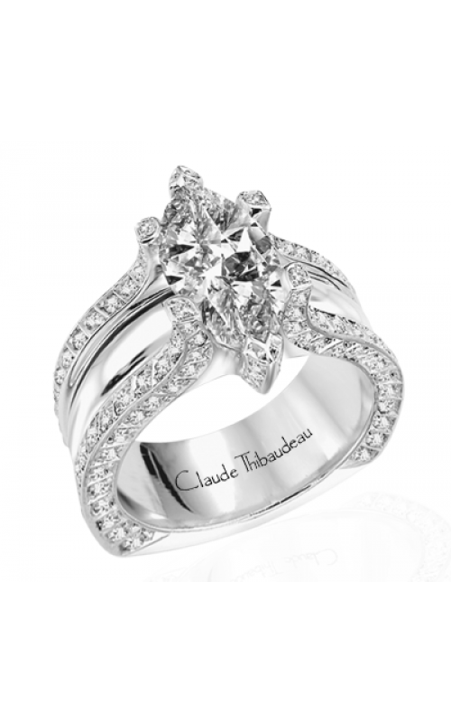 Claude Thibaudeau La Royale Engagement ring MODPLT-1551 product image