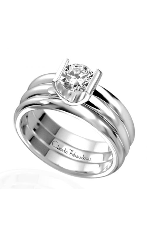 Claude Thibaudeau La Cathedrale Engagement ring PLT-1339 product image