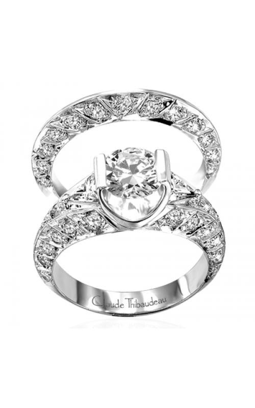Claude Thibaudeau La Cathedrale Engagement ring PLT-1523 product image