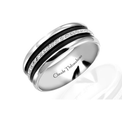 Claude Thibaudeau Black Hevea PLT-1566-F product image