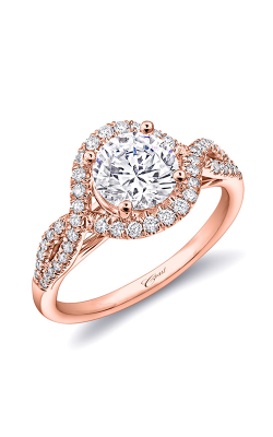 Coast Diamond Rose Gold Engagement Ring LC5449RG product image
