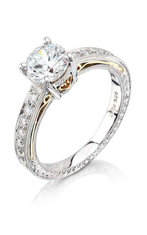 Coast Diamond Hand Engraved Engagement ring LP2286 product image