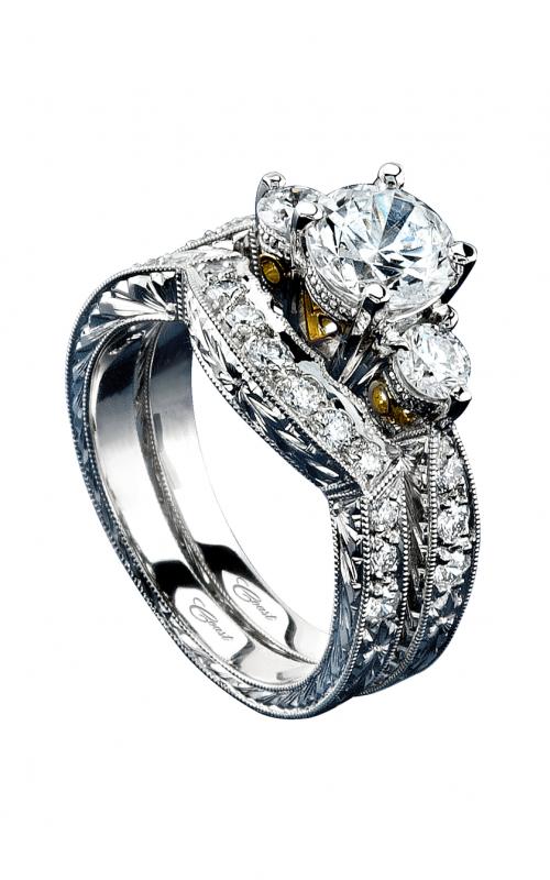Coast Diamond Hand Engraved Engagement ring LP2132 WP2132 product image