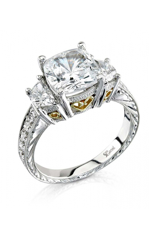 Coast Diamond Hand Engraved Engagement ring LP1780 product image