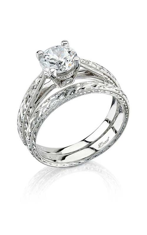 Coast Diamond Hand Engraved Engagement ring LP2313 WP2313 product image