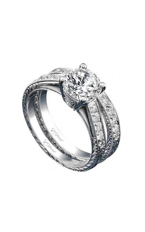 Coast Diamond Hand Engraved Engagement ring LP2314 WP2314 product image
