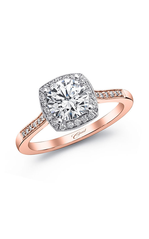 Coast Diamond Rose Gold Engagement ring LC5391RG product image