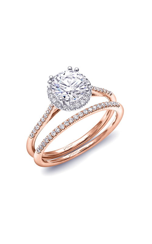 Coast Diamond Rose Gold Engagement ring LC5403RG WC5399ARG product image
