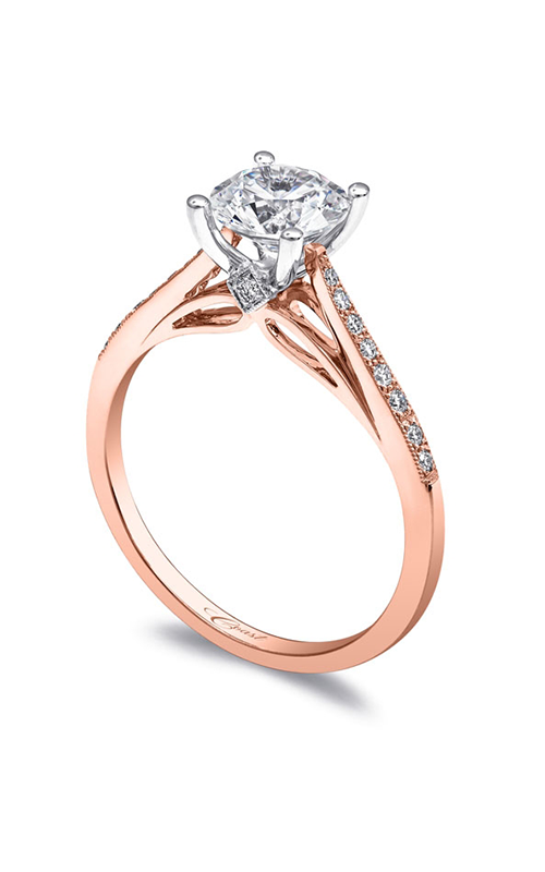 Coast Diamond Rose Gold Engagement ring LC5387RG product image