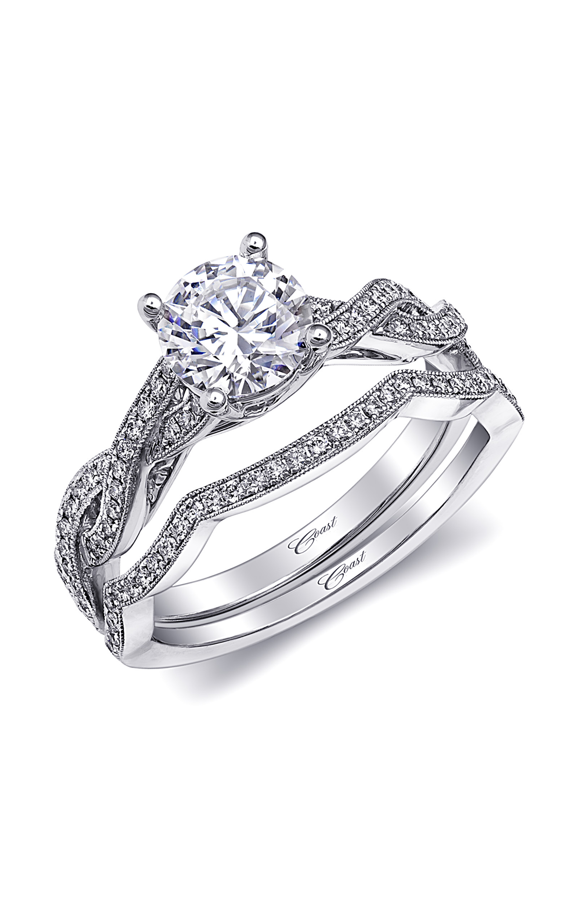 Coast Diamond Romance Engagement Ring Lc10261