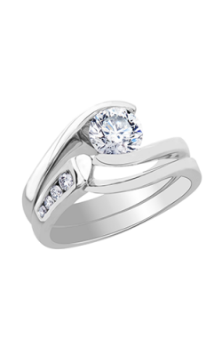 Maple Leaf Diamonds Wedding Sets R1808WG-100-18 product image