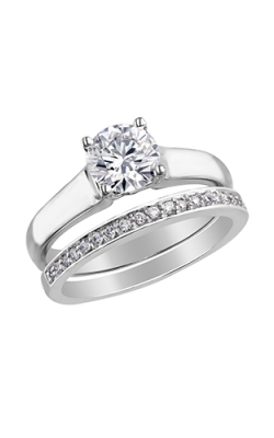 Maple Leaf Diamonds Wedding Sets R1864WG-100-18 product image