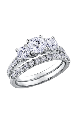 Maple Leaf Diamonds Wedding Sets R3635WG-100-18 product image
