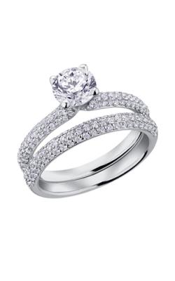 Maple Leaf Diamonds Wedding Sets R3694WG-145-18 product image