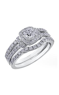 Maple Leaf Diamonds Wedding Sets R3863WG-95-18 product image