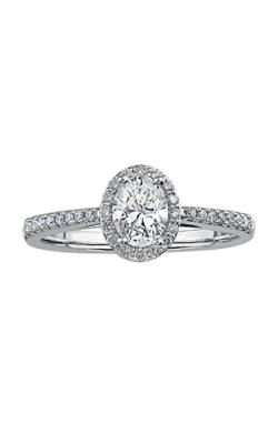 Maple Leaf Diamonds Engagement Rings R3818WG-70-18 product image
