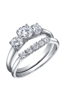 Maple Leaf Diamonds Wedding Sets R3342WG-75-18 product image