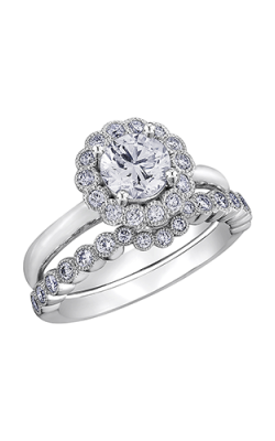 Maple Leaf Diamonds Wedding Sets R3878WG-80-18 product image