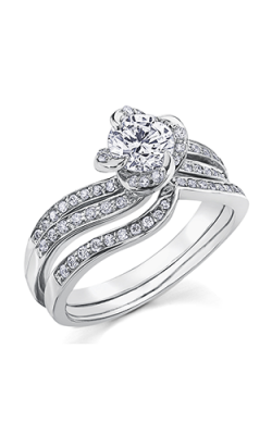 Maple Leaf Diamonds Wedding Sets R3871WG-90-18 product image