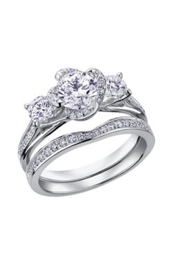 Maple Leaf Diamonds Wedding Sets R3714WG-165-18 product image