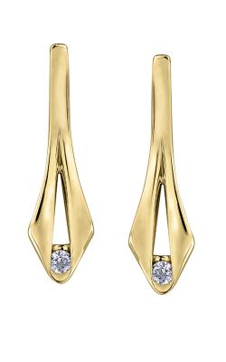 Maple Leaf Diamonds Earrings ML435Y product image