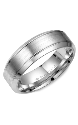 CrownRing Classic and Carved Wedding Band WB-9089 product image