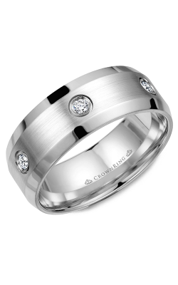 Crown Ring Men's Wedding Band WB-9616 product image