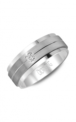 Crown Ring Men's Wedding Band WB-7108SP product image
