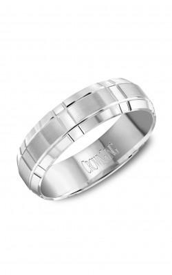 CrownRing Carved Wedding band WB-8074 product image