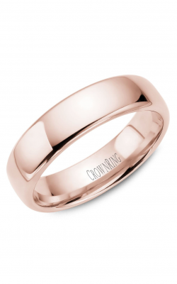 Crown Ring Men's Wedding Band TDS14R6 product image