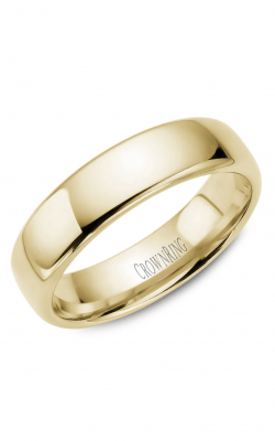 CrownRing Traditional Wedding band TDS14Y6 product image