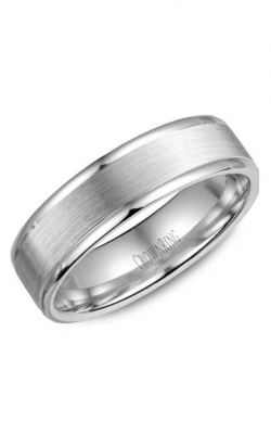 Crown Ring Men's Wedding Band WB-6925SP product image