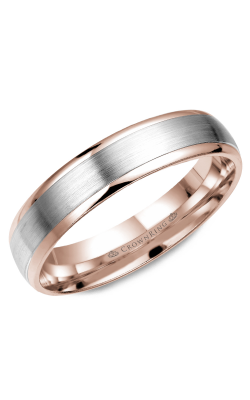 CrownRing Classic And Carved Wedding Band WB-7313WR product image