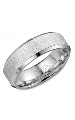 CrownRing Classic And Carved Wedding Band WB-8050 product image