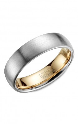 Crown Ring Men's Wedding Band WB-039C6WY product image