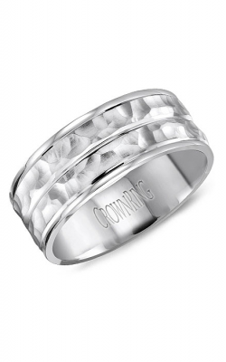 CrownRing Carved Wedding Band WB-8043 product image