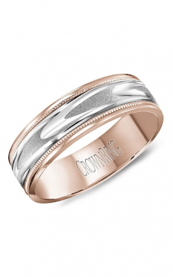 Crown Ring Men's Wedding Band WB-8067WR product image