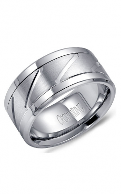 CrownRing Carved Wedding Band WB-9623 product image