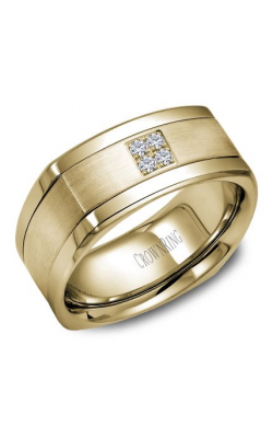 Crown Ring Men's Wedding Band WB-9671Y product image