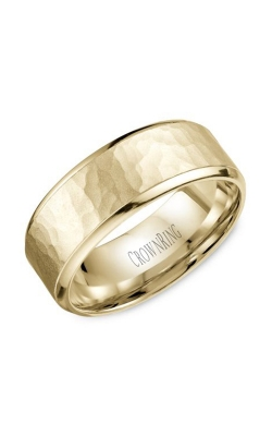 CrownRing Carved Wedding Band WB-9968Y product image
