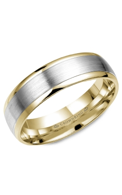 CrownRing Classic and Carved wedding band WB-7141 product image